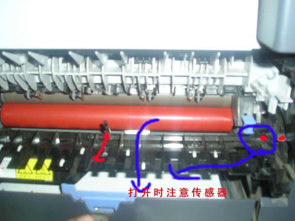 兄弟/联想激光打印机/一体机定影组件拆卸图解-硒鼓