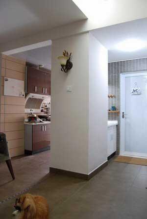 85平米两房变三房-综合居室设计图-室内设计