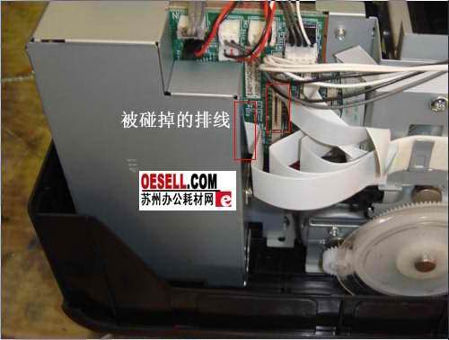 epson r290打印白纸故障维修一例